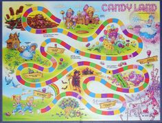 6 Best Images of Free Printable Board Game Candyland - Printable Candyland Board Game, Printable Candyland Game Pieces and Printable Candyland Board Game Candyland Board Game, Candyland Games, Candyland Decor, Childhood Toys, Childhood Memories, Sweet Memories, Board Game Template, Candy Land Theme, Trunk Or Treat