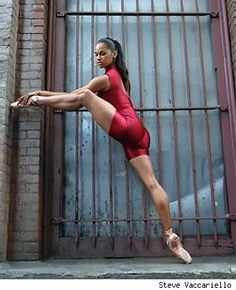 Misty Copeland of the American Ballet Theatre
