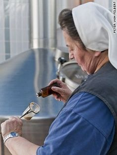 Sister Doris: Europe's last beer-making nun. A quiet sensation hidden behind monastery walls, she's been turning water into beer at Mallersdorf, a 12th-century abbey in the Bavarian highlands, for more than 40 years. She's a certified master brewer. She's also a Franciscan nun.