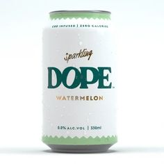 Take a break from the chaos and experience a new kind of unwind. DOPE Drinks brings a refreshingly light sparkling water with a hint of natural watermelon flavo Good Find, Non Alcoholic, Alcohol Free, Drink Bottles, Watermelon, Sparkle, Pure Products, Drinks, Natural
