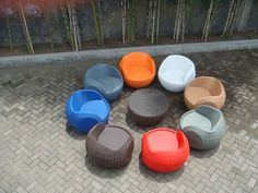 Modern design outdoor furniture contract - Mini POD