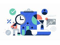Dynamo on Behance Website Illustration, Business Illustration, Flat Illustration, Illustrations, Digital Illustration, Icon Design, Logo Design, Graphic Design, News Web Design