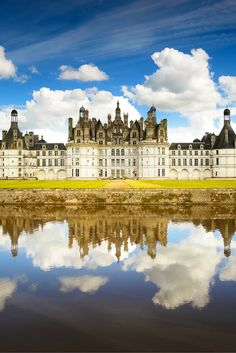Most people realize the Chateau de Chambord in France is large, but most people don't realize just how large. It contains 440 rooms and 365 fireplaces.  Check out 20 more of the Most Beautiful Fairy Tale Castles in the World!