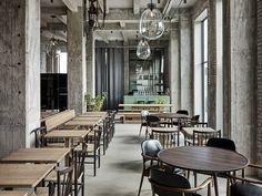 Restaurant 108. Copenhagen, Denmark. Interior design: SPACE Copenhagen.