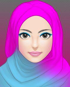 model hijab4
