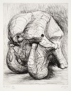 Henry Moore - Etching