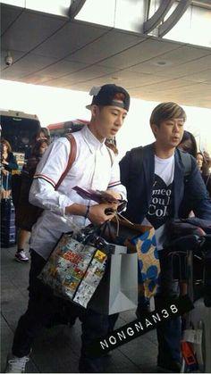 B.I Team B Arrival @ Incheon Airport