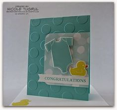 Be Creative with Nicole: Something for Baby