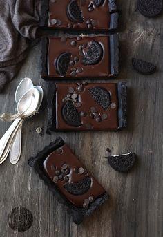 Tarta de Chocolate con Oreo, fácil de hacer y sin utilizar el horno