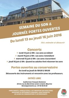semaine du son 2016 http://www.ville-saint-maurice.com/viewPageEvent.html?page=semaine_son2016