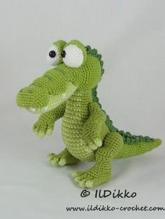 Conrad the Crocodile – Amigurumi Crochet Pattern |