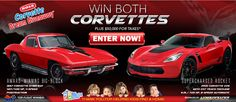 Help homeless children and win two Corvettes plus taxes*