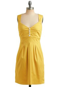 Sundress of My Life - I love that it's simple, but a bright fun color. I think this would be a good shape for me, and it has pockets!