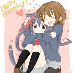 「Happy 15th Bithday dear @anime_is_awesome_4 !! Thanks for being my best friend! Love ya so much ^w^」