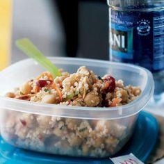 Moroccan-Spiced Bulgur and Chickpea Salad | CookingLight.com