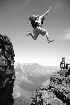 the gap | jump | jumping | leap | scary | heights | faith | living on the edge | www.republicofyou.com.au