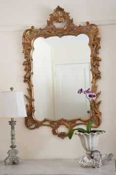 Vintage+French+Gold+Gilt+Mirror+by+ErinLaneEstate+on+Etsy,+$775.00