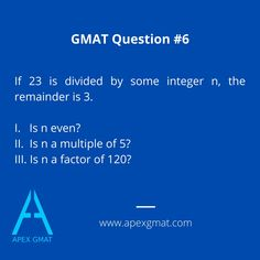 Can you find the solution to this one? #gmat #gmatproblem #gmatexam #gmattest #practice #gmatpractice #quant #gmatquestion #gmattutor  #gmatresources #gmat700score #gmatpracticequestion #gmatpractice #apexgmat #gmathelp Gmat Test, Gmat Exam, Gmat Preparation, Appreciate Your Help, Test Anxiety, Test Day, Value Proposition, First Contact, Google Classroom