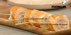 Salsiccia in crosta di pane ricetta Moroni La Prova del Cuoco | Cucina in tv