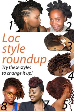 7 cool Loc styles to try!
