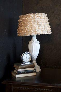 Pleated lampshade tutorial