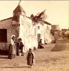 Roma : Appia antica nel 1897