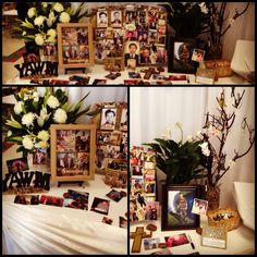 Memory Table Ideas wish you were here table Funeral Memory Table Memorytree Memoryboard Memoryshadowbox Memorial