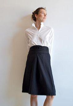 bunch-skirt and boy shirt; pip squeak chapeau: On my dream shopping list