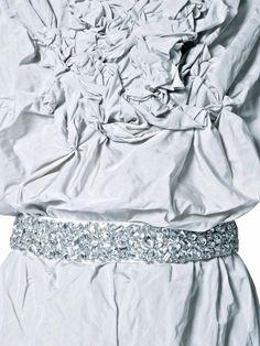 #rhea costa #fabric manipulation