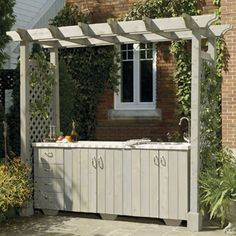 Build the perfect pergola in your garden this weekend. Here are 51 free DIY pergola plans to get you started. Diy Pergola, Pergola Decorations, Building A Pergola, Wood Pergola, Small Pergola, Pergola Canopy, Pergola Attached To House, Pergola With Roof, Cheap Pergola