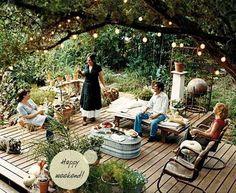 Backyard Garden Ideas - Ah texas summers
