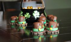 St. Patrick's Day *Food* - Little Leprechaun Hats (recipe)