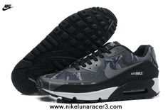 2013 Black Grey Mens Shoes Nike Air Max 90 2013 Differentiation