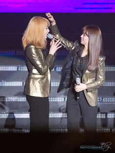 Jiyoung and Seungyeon - KARA - DSP Festival