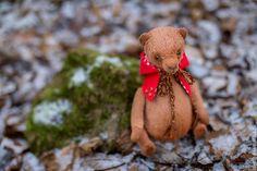 Мишки Тедди ручной работы. по следам красной шапочки. Настёна Никитина. Интернет-магазин Ярмарка Мастеров. Медведь, вискоза Германия