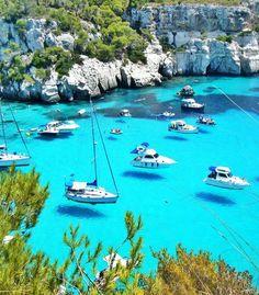 Looks Like Boats are Flying, Menorca - Spain   Full Dose