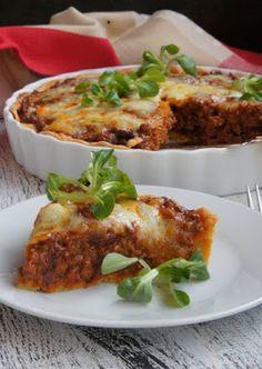 KUCHNIA  POLSKA  & mistrzowskie gotowanie: Tarta chili con carne Lasagna, French Toast, Meat, Chicken, Breakfast, Ethnic Recipes, Food, Chili Con Carne, Tarts