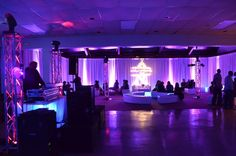 Showtime's gallery of Uplighting and Lounge Furniture Rentals in MD, DC and VA