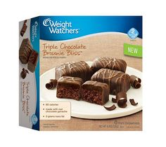 Weight Watchers Triple Chocolate Brownie Bliss