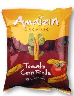 Majs-snacks, Tomat (rullar) Veganbox Oktober 2014