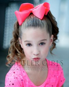 """Who wants to be Mackenzie for Abbie's FALDC??!! Comment your Username and """"Mackenzie Ziegler the one!!"""" on @Dance Moms Fan Page board"""