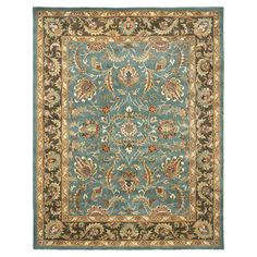 Safavieh Heritage Blue & Brown Area Rug