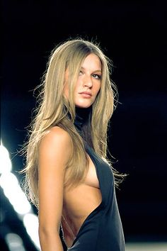 Gisele. Ralph Lauren Fall/Winter 2000
