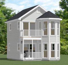 16x26 House w/ Loft -- #16X26H3 -- 712 sq ft - Excellent Floor Plans