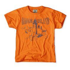 Rhode Island Lighthouse Boys T-Shirt