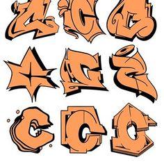 Breakdance © Favorite one? Graffiti Lettering Alphabet, Graffiti Font, Graffiti Tagging, Graffiti Drawing, Graffiti Styles, Graffiti Artists, New York Graffiti, Street Art Graffiti, Drawing Letters