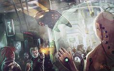 Cyberpunk : Assassination by Traaw on DeviantArt