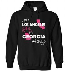 Los Angeles-Georgia - #men hoodies #capri shorts. SIMILAR ITEMS => https://www.sunfrog.com//Los-Angeles-Georgia-7966-Black-Hoodie.html?60505