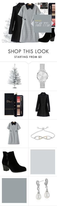 """Tell Me #1 Inspired by INFINITE ""Tell Me"""" by kagamineai ❤ liked on Polyvore featuring Michael Kors, Estée Lauder, Blugirl, Polaroid, Skechers, Blue Nile and OPI"
