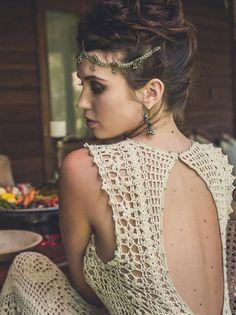 Crochetemoda Blog: Crochet - Vestidos